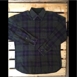 Vintage Tommy Hilfiger button down long sleeve L